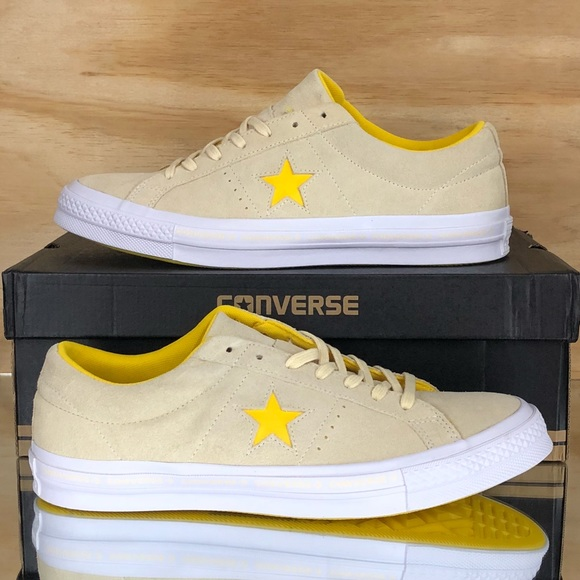 88c159d188f707 Converse One Star Pro Ox CTAS Yellow White Low Top